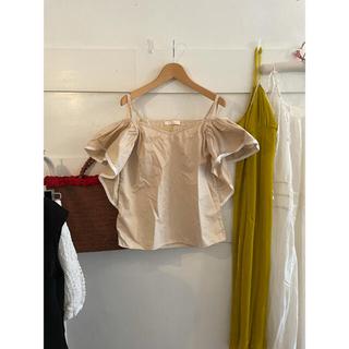 クロエ(Chloe)のChloé frill blouse.(シャツ/ブラウス(半袖/袖なし))