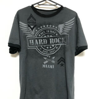 ロックハード(ROCK HARD)のhard rock tシャツ ハードロック(Tシャツ/カットソー(半袖/袖なし))