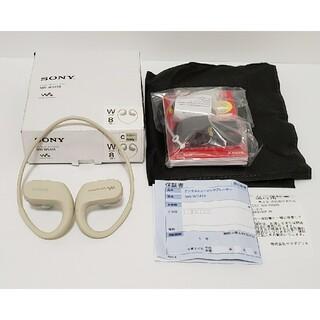 ソニー(SONY)の新品保証付 SONY NW-WS414 アイボリー 8GB(ポータブルプレーヤー)
