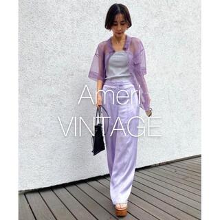 Ameri VINTAGE - *新品タグ付き* アメリ LOOSE COLOR PANTS