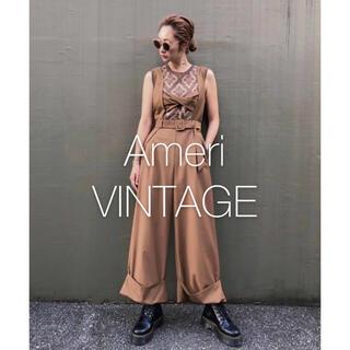 Ameri VINTAGE - *新品タグ付き* アメリ TWIST BUSTIER ROMPERS