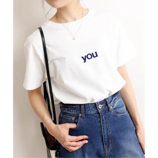 イエナスローブ(IENA SLOBE)の即日発送【新品】SLOBE IENA you5/S TEE(Tシャツ(半袖/袖なし))