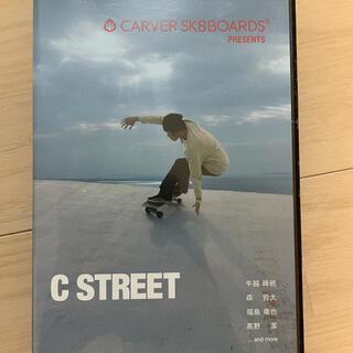 """"""" C STREET """" COVER SKATEBOARDS DVD(サーフィン)"""