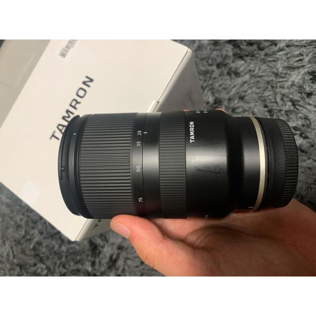 TAMRON(タムロン)のTAMRON 28-75F2.8 DI3 RXD(A036SE) スマホ/家電/カメラのカメラ(レンズ(ズーム))の商品写真
