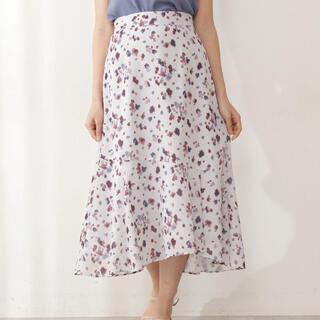 PROPORTION BODY DRESSING - ブラーリーマーメイドスカート / 1211120506