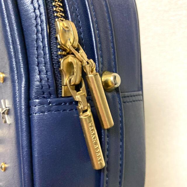 URBANBOBBY(アーバンボビー)のURBAN BOBBY 2way 星柄スタッズ ショルダーバッグ ネイビー/紺 レディースのバッグ(ショルダーバッグ)の商品写真