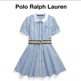 POLO RALPH LAUREN - ★Polo Ralph Lauren★ストライプシャツワンピース 110