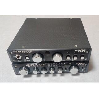 Grace design m101+m102(マイクプリ+コンプレッサーのセット(エフェクター)