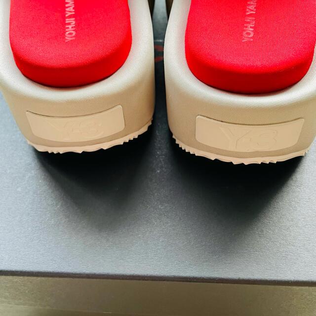 Y-3(ワイスリー)の【Y-3】slide 厚底サンダル uk10/28.5cm 新品未使用 メンズの靴/シューズ(サンダル)の商品写真