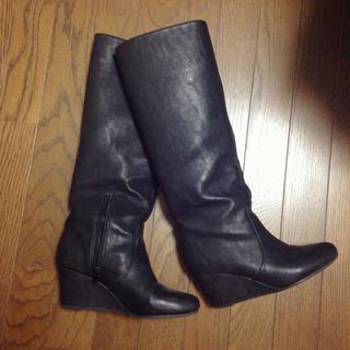 ジーナシス(JEANASIS)のJEANASIS ロングブーツ Lサイズ(ブーツ)
