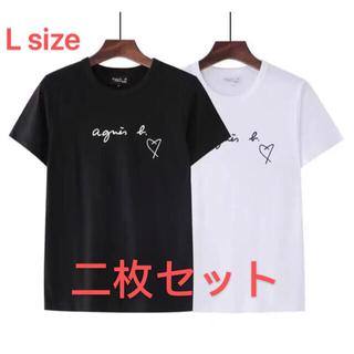 agnes b. - 【大人気】アニエスベー Agnes b. Tシャツ 黒 白 L