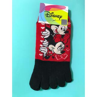 ディズニー(Disney)の5本指 靴下 ディズニー ミッキー ミニー(ソックス)