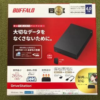 Buffalo - 外付けHDD【4TB】バッファロー 新品