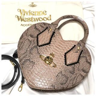 ヴィヴィアンウエストウッド(Vivienne Westwood)のヴィヴィアンウエストウッドロンドン オーブ 2way ハート型 ショルダーバッグ(ショルダーバッグ)