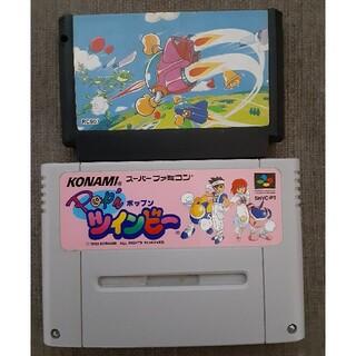 KONAMI - (S)FC ファミコンソフト ツインビー2本セット