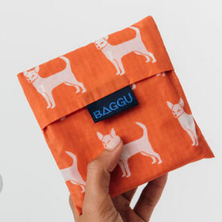 BEAMS - BAGGU ★バグー エコバッグ スタンダードサイズ チワワ 犬 dog
