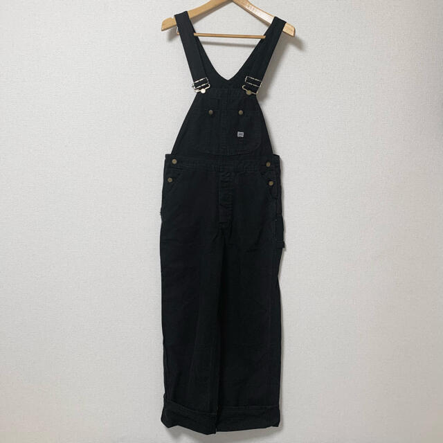 Lee(リー)のLee オーバーオール ブラック メンズのパンツ(サロペット/オーバーオール)の商品写真
