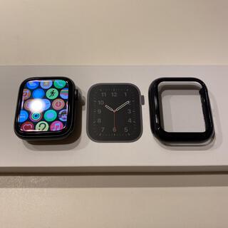 アップル(Apple)のApple Watch SE 44mm  Applecare+バッテリー100%(その他)