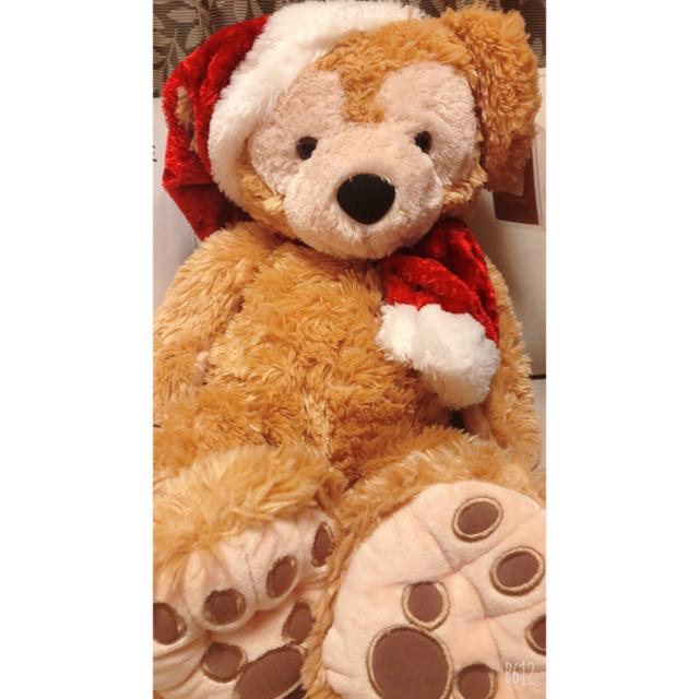 ダッフィー(ダッフィー)のダッフィー 白タグ クリスマス 2005 激レア 希少 エンタメ/ホビーのおもちゃ/ぬいぐるみ(ぬいぐるみ)の商品写真