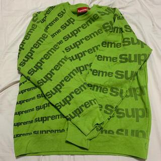 Supreme - 20SS supreme radial crewneck Lサイズ Green