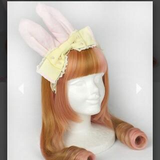 アンジェリックプリティー(Angelic Pretty)のAngelicPretty whip bunnyカチューシャ(カチューシャ)