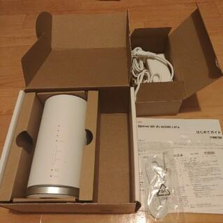 エーユー(au)のau speed  Wi-Fiルーター home L01s(PC周辺機器)