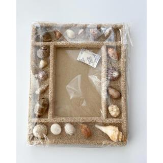 貝殻 インテリア ハワイ フォト フレーム 写真 立て (写真額縁)