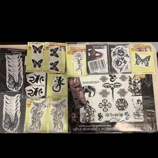TEMPTU プロ用タトゥーシート タトゥーシール 刺青メイク 特殊メイク(小道具)