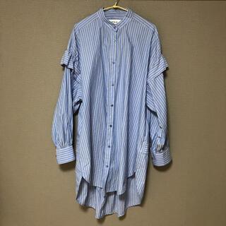 ENFOLD - エンフォルド ロングシャツ サンプル品