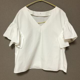 フレームワーク(FRAMeWORK)のLami フリルブラウス(シャツ/ブラウス(半袖/袖なし))