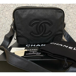 シャネル(CHANEL)の極美品✨✨CHANEL デカココ キャビアスキン カメラバッグ (ショルダーバッグ)
