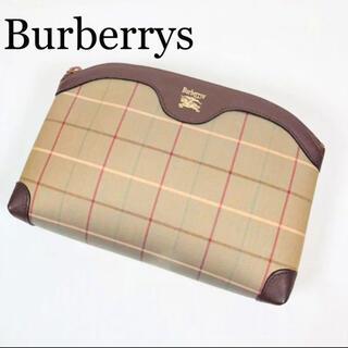 BURBERRY - 【美品】バーバリーズ ノバチェック クラッチバッグ ポーチ ヴィンテージ