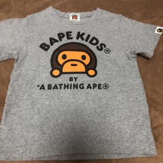 アベイシングエイプ(A BATHING APE)のアベイシングエイプ Tシャツ キッズ(Tシャツ/カットソー)