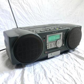 ソニー(SONY)のSONY CD カセットラジカセ ZS-D1 稼働品(ポータブルプレーヤー)