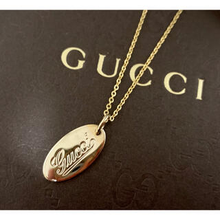 Gucci - GUCCI/グッチ ヴィンテージ/オールドグッチ 筆記体 ネックレス/ペンダント