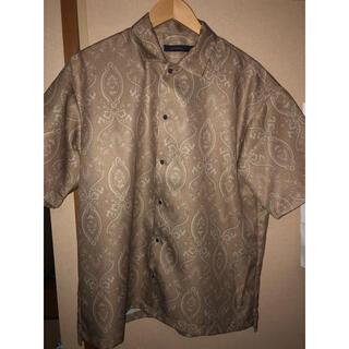 RAGEBLUE - RAGEBLUE 半袖シャツ ペイズリー柄 Lサイズ