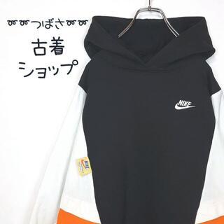 NIKE - 【入手困難】NIKE リメイク風 パーカー ナイロンジャケット 90s 刺繍