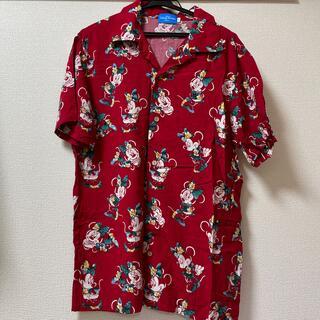 ディズニー(Disney)の【引っ越しセール8/10まで】ディズニー アロハTシャツ ミニー(シャツ/ブラウス(半袖/袖なし))