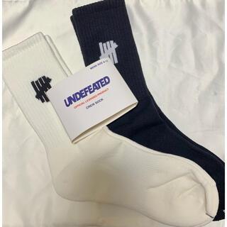アンディフィーテッド(UNDEFEATED)のundefeated 靴下 ソックス アンディフィーテッド 25〜29cm 2足(ソックス)
