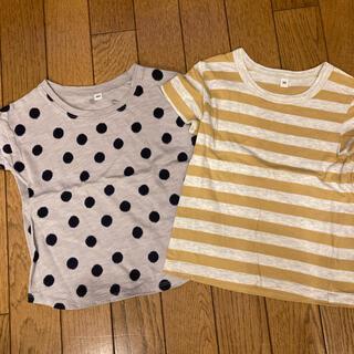 ムジルシリョウヒン(MUJI (無印良品))の無印 2枚セット Tシャツ(Tシャツ/カットソー)