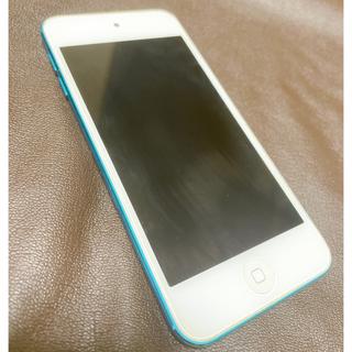 アイポッドタッチ(iPod touch)のiPod touch(第5世代)32G ブルー (ポータブルプレーヤー)