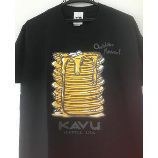 KAVU - 【新品】カブー(KAVU)パンケーキ 半袖Tシャツ Mサイズ 黒 パタゴニア