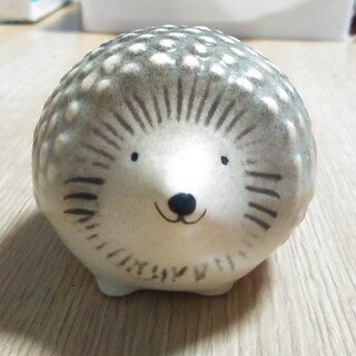 Lisa Larson - リサラーソン ハリー 可愛いお顔の子 ハリネズミ 陶器 置物