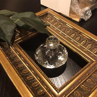 フランフラン(Francfranc)のパヒュームボトル 香水瓶 ガラス置物(置物)