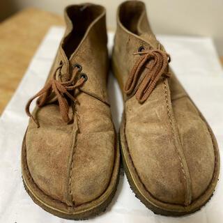 クラークス(Clarks)のクラークス スエード ブーツ US9.5(27.5cm)(ブーツ)