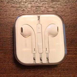 アップル(Apple)のアップル純正イヤホン iPhone 6 付属品 ジャックタイプ(ヘッドフォン/イヤフォン)