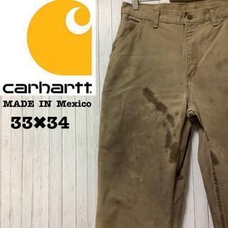 カーハート(carhartt)のカーハート メキシコ製 ペインターパンツ ワークパンツ ベージュ 33/34(ペインターパンツ)