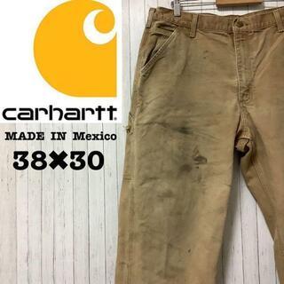 カーハート(carhartt)のカーハート メキシコ製 ペインターパンツ ワークパンツ ブラウン 38/30(ペインターパンツ)