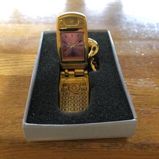 パナソニック(Panasonic)の懐かしいガラ系時計 お宝(携帯電話本体)