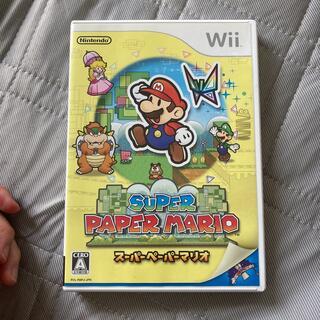 Wii - スーパーペーパーマリオ Wii